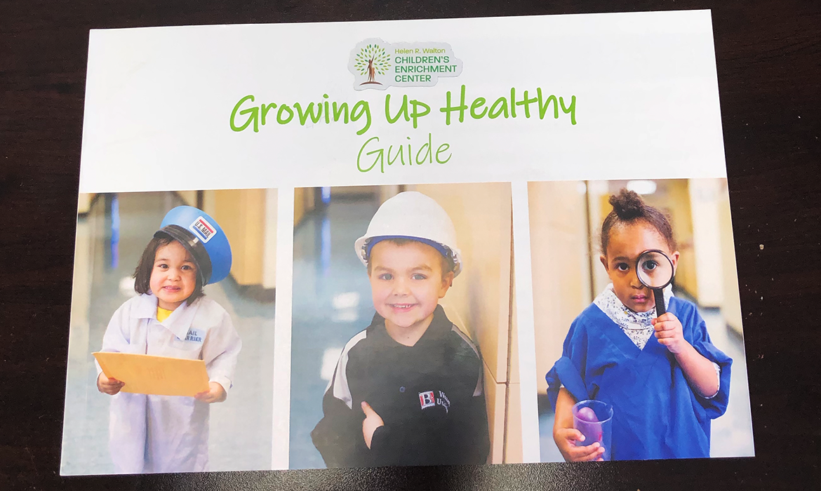 Growing Up Healthy Guide cover