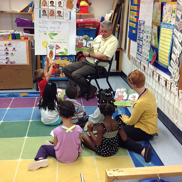 Studer Community Institute How You Can Help Dan Barnes Reading to Children