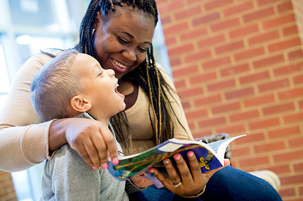 Studer Community Institute How You Can Help Mother and Son Reading
