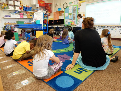 Lincoln Park Elementary classroom, Studer Community Institute