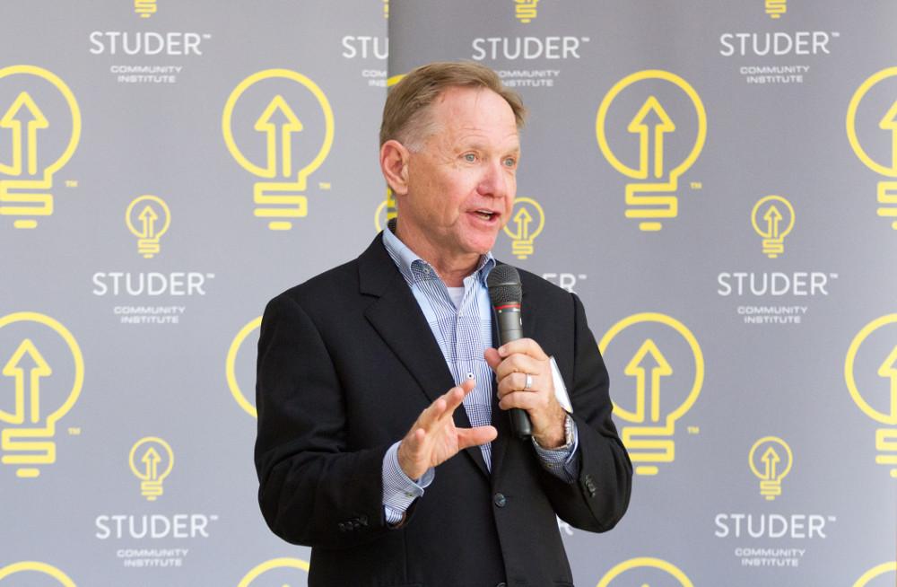 Picture of Quint Studer, Studer Community Institute