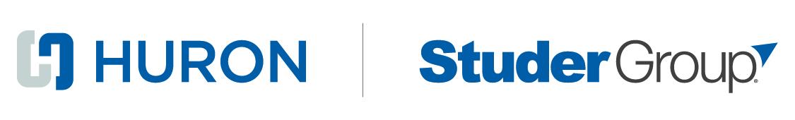 Studer Group, a Huron Solution Logo - Studer Community Institute partner