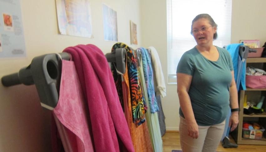 Melanie Hackworth's home-based childcare center in Northeast Pensacola. Photo credit: Shannon Nickinson