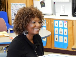 Cassandra Smith, Lincoln Park Primary School Principal, credits her staff and students for putting in the extra work to raise the school's grade to an A and to score a 100 kindergarten readiness rate.