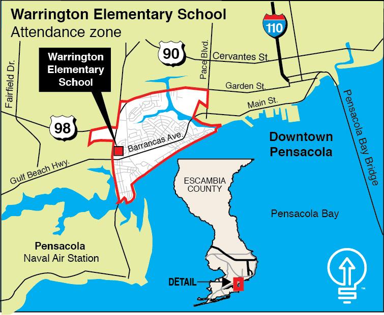 warrington-elementary-attendance-zone