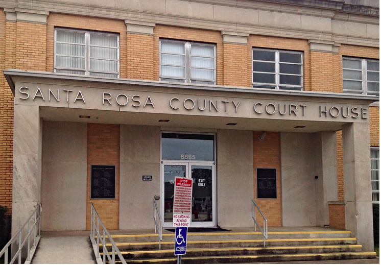 Studer Community InstituteThe current Santa Rosa County Courthouse in downtown Milton is badly in need of replacement.