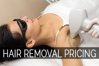 hair removal services pricing