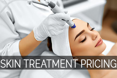 skin treatment services pricing