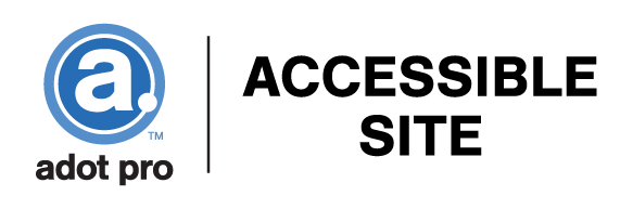 ADot Pro Web Accessibility Logo