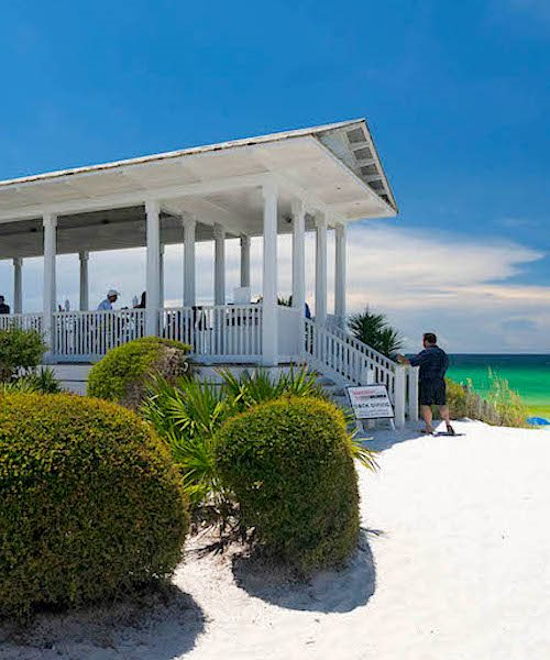 Homeowner's Collection Seaside Florida Venues Seaside Beach Pavilion