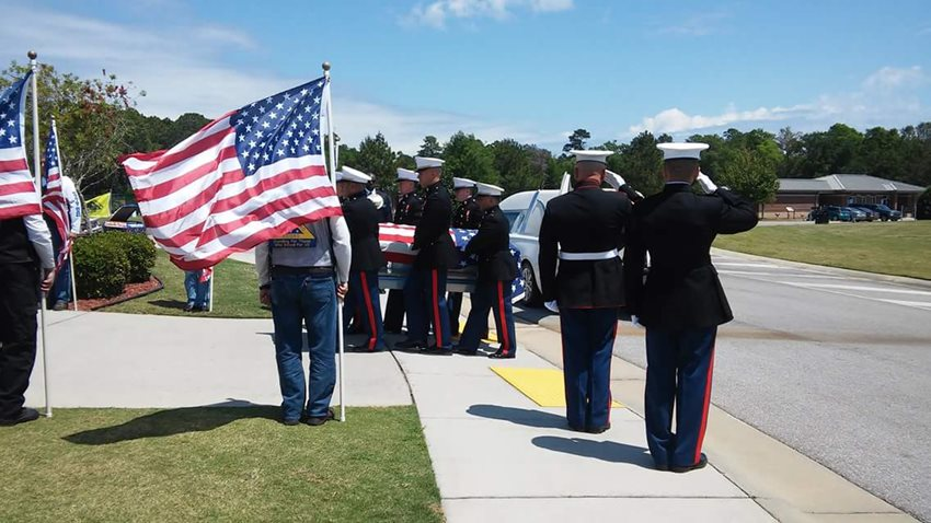 Marine Walter Sullivan-RIP