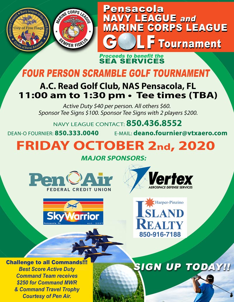 Four Person Scramble Golf Tournament