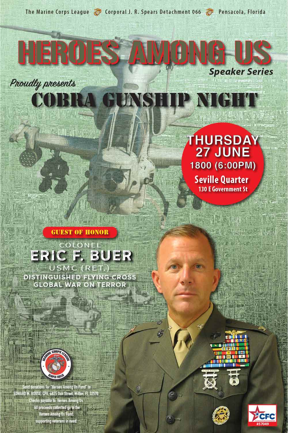 HAU - Cobra Gunship Night