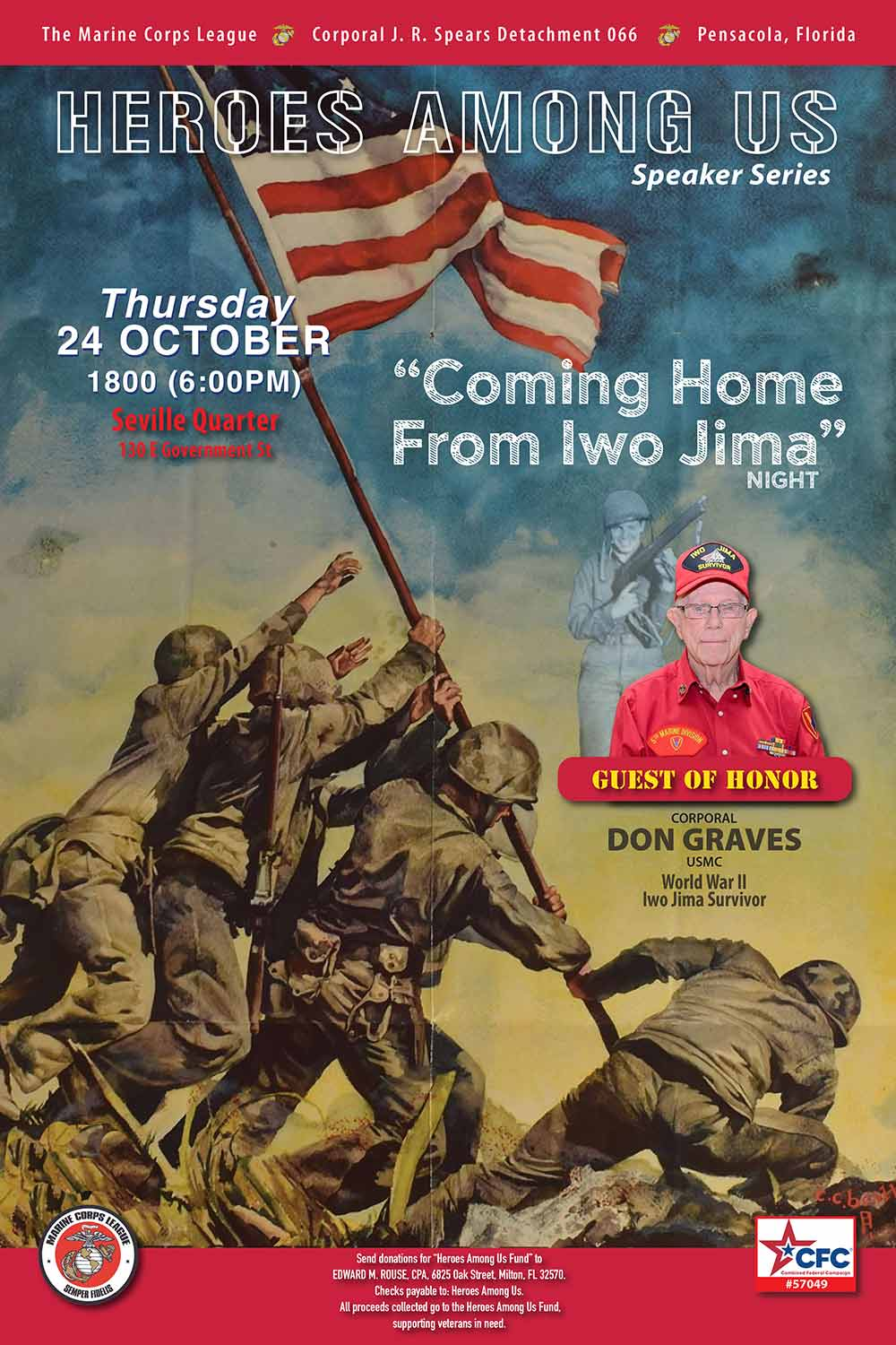 Coming Home From Iwo Jima Night