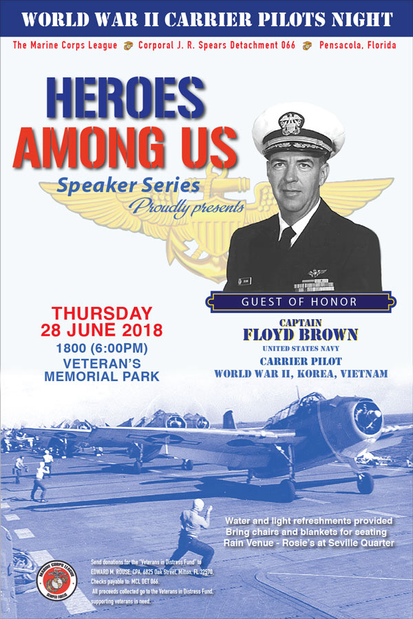 Heroes Among Us - WWII Carrier Pilots Night