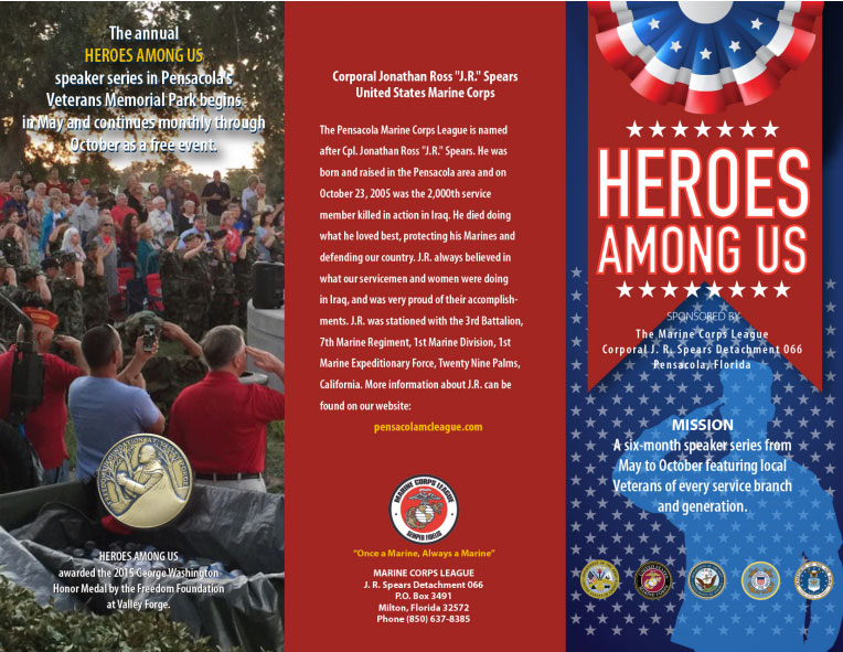 Heroes Among Us Flyer