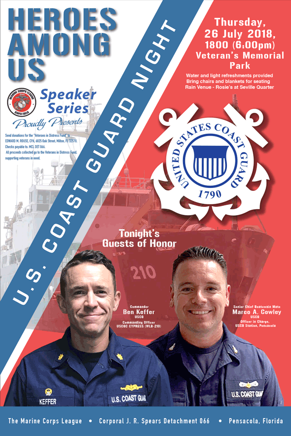 Heroes Among Us - US Coast Guard Night