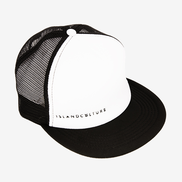 Island Culture Trucker Hat - White
