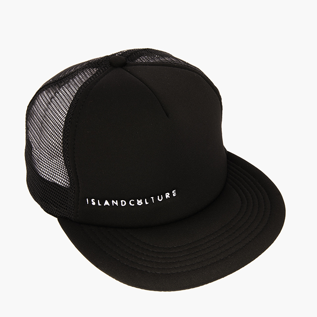 Island Culture Trucker Hat - Black