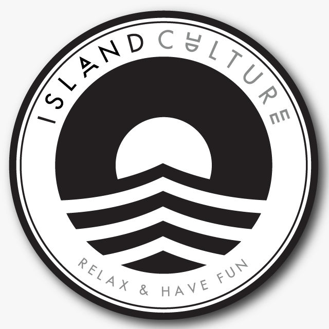 Island Culture Relax and Have Fun Sticker