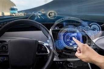 image of self driving car