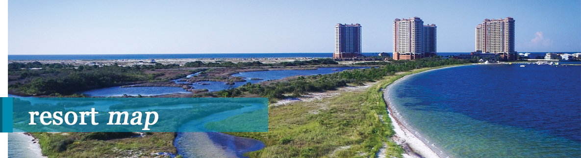 view from portofino of Pensacola Beach