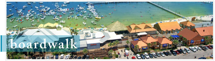 Pensacola Beach Boardwalk Portofino