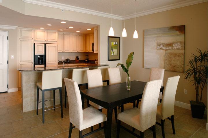 Portofino Sample Dining Room Interior