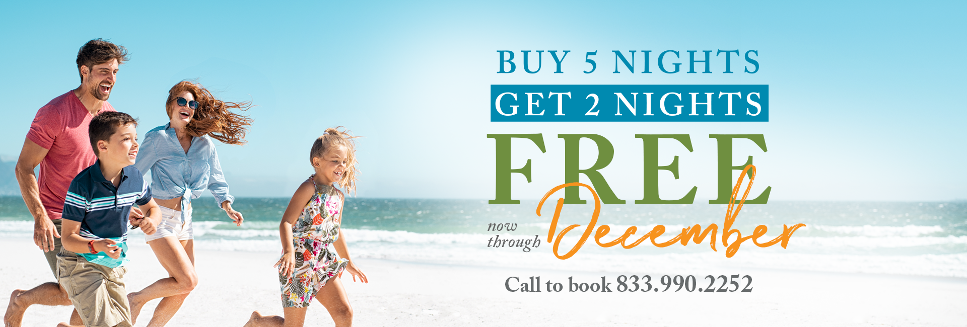 Empty Beach chairs on the gulf - Now accepting reservations for stays beginning today - buy 5 nights get 2 free in through December
