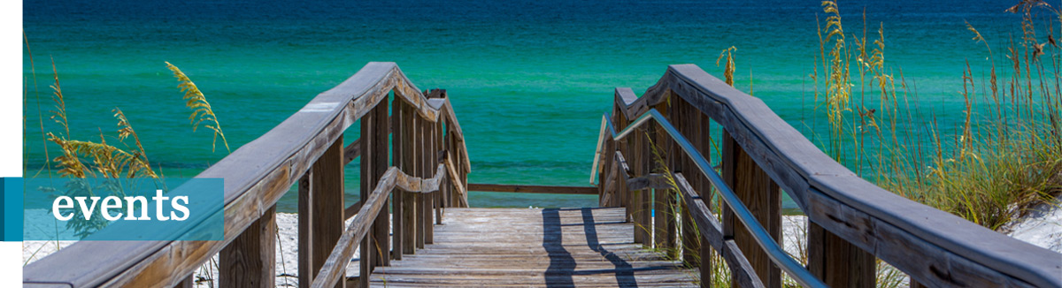 view from portofino of Pensacola Beach