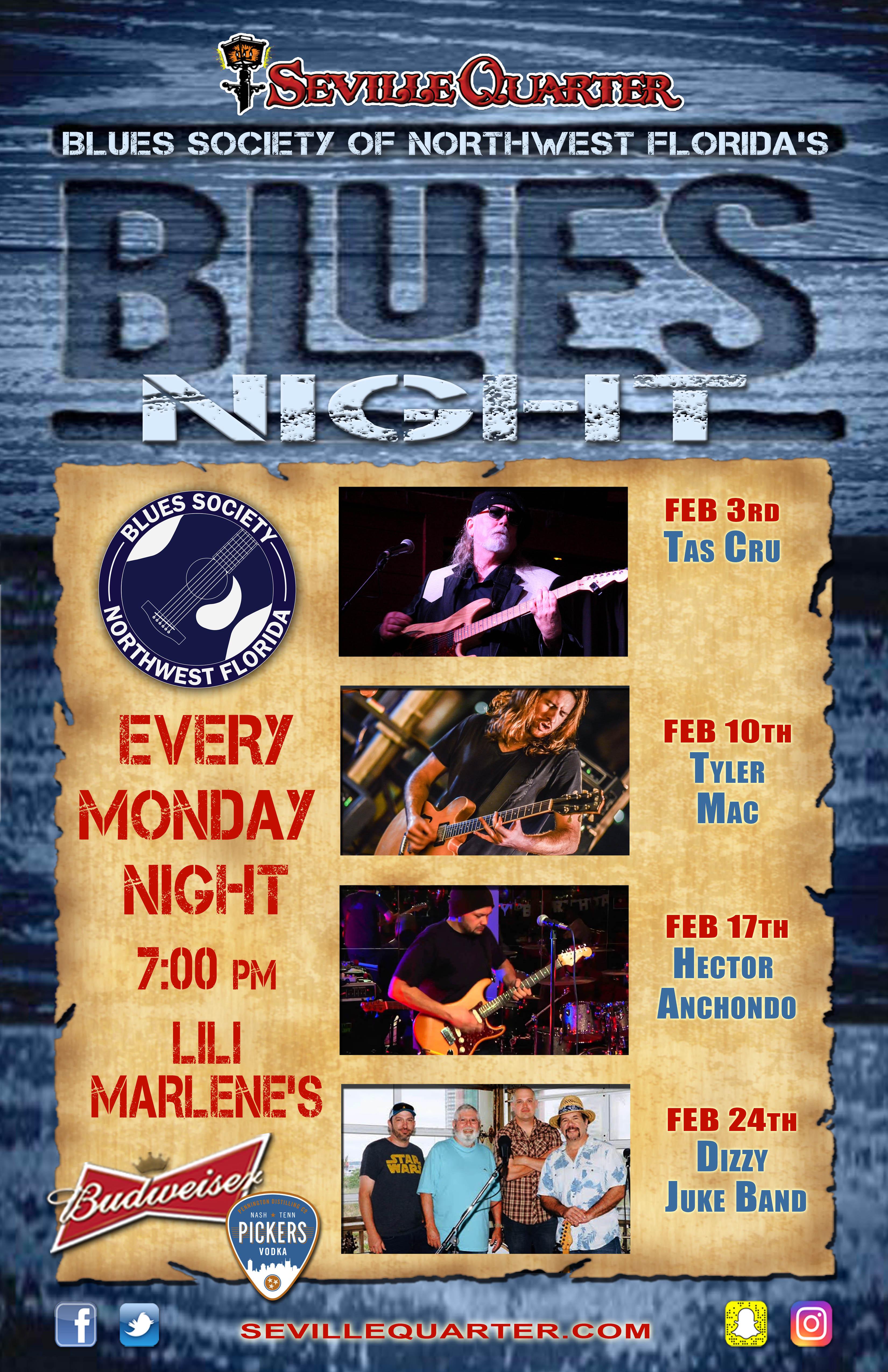 Feb blues