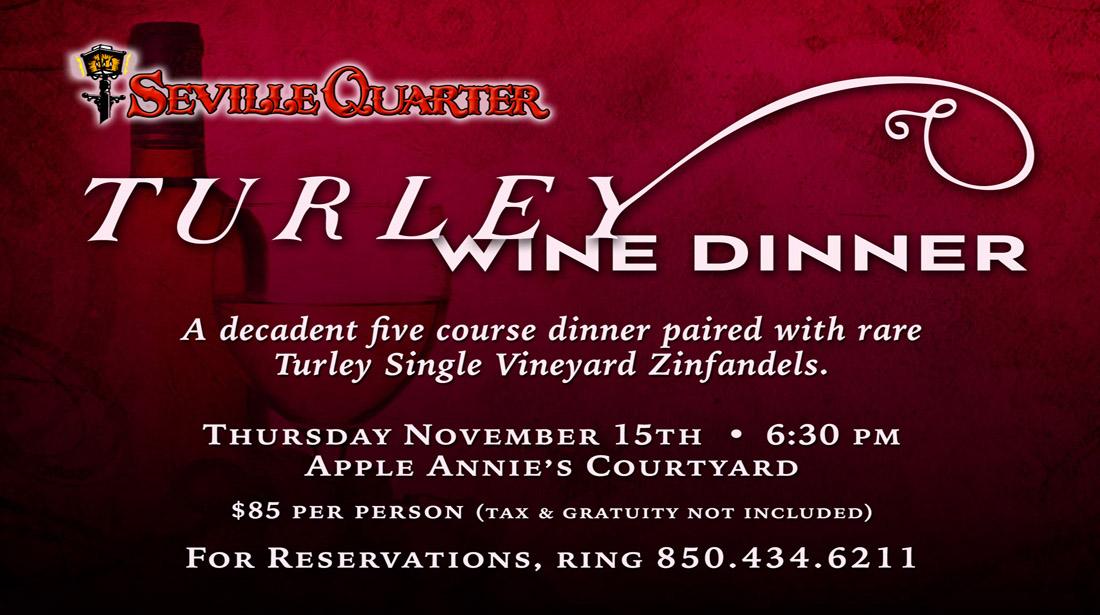 Wine Festival Dinner