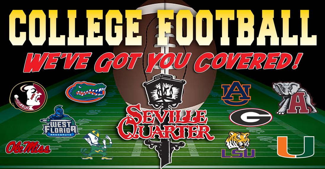 Seville Quarter Event Seville Quarter College Football Saturday