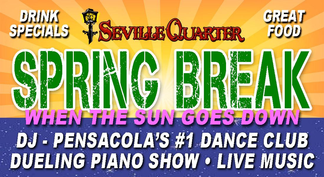 Seville Quarter Event spring break