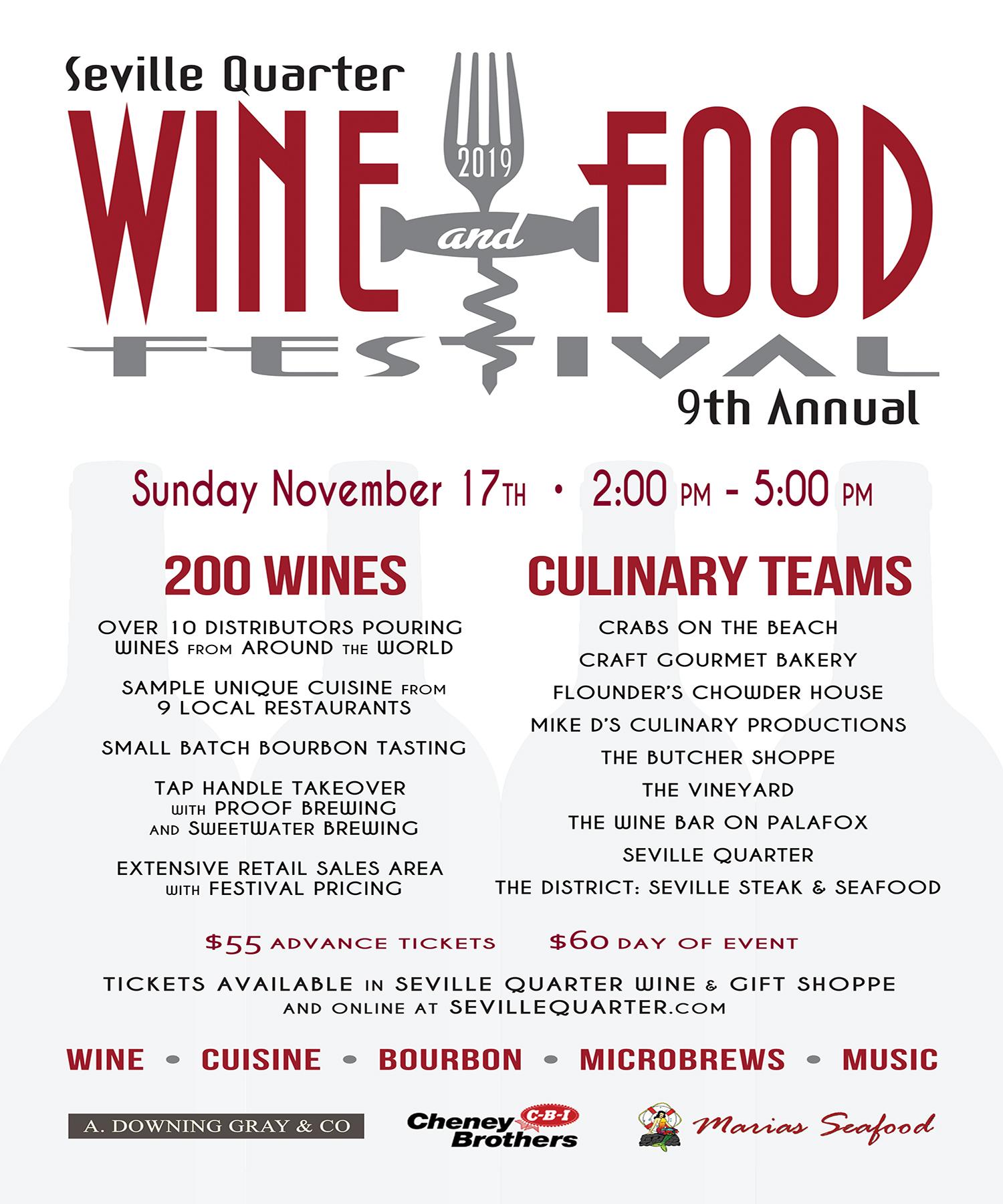 2019 Wine & Food Festival