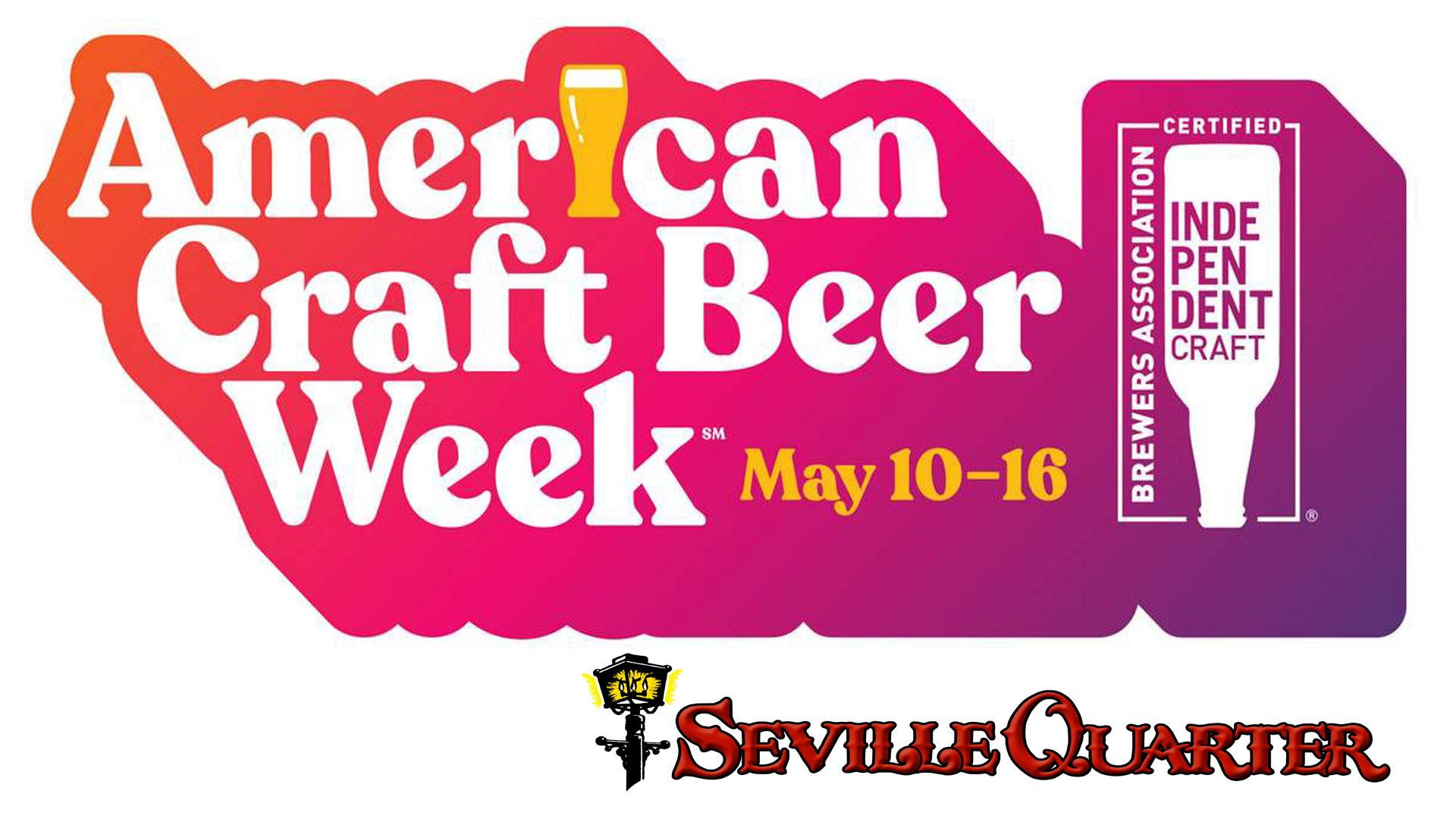 Seville Quarter Event craft beer week