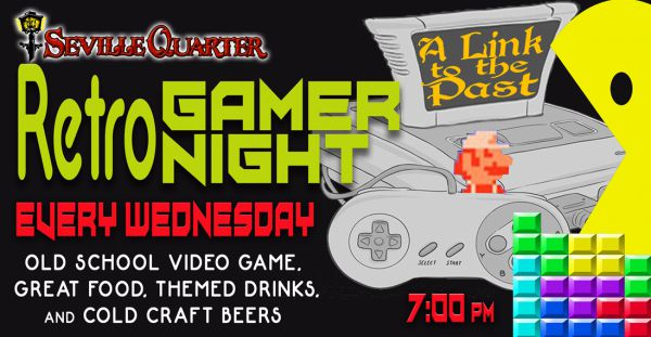 Retro Gamer Night