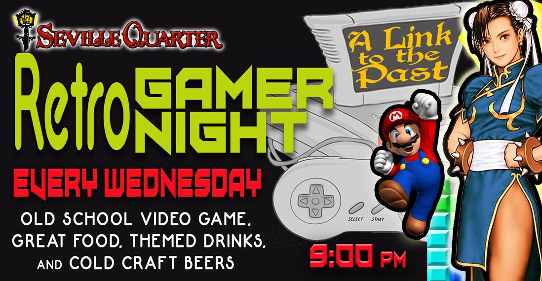 Retro Gamer Night