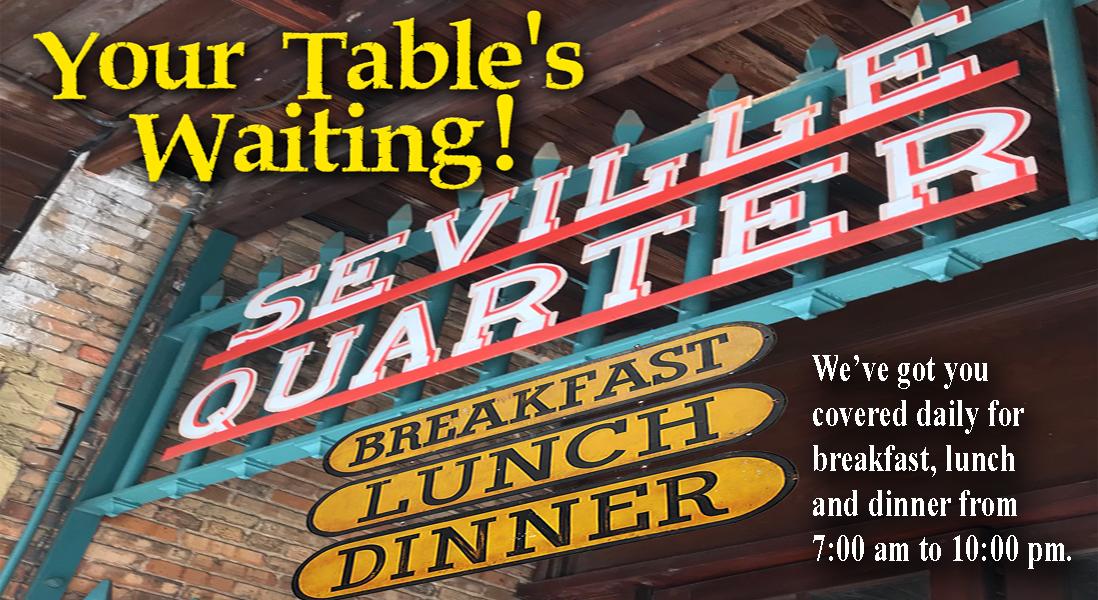 Seville Quarter Event {{slide_image_alt}}