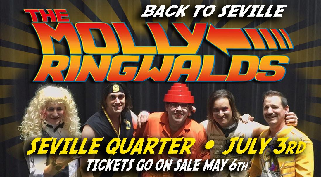 Seville Quarter Event molly ringwalds