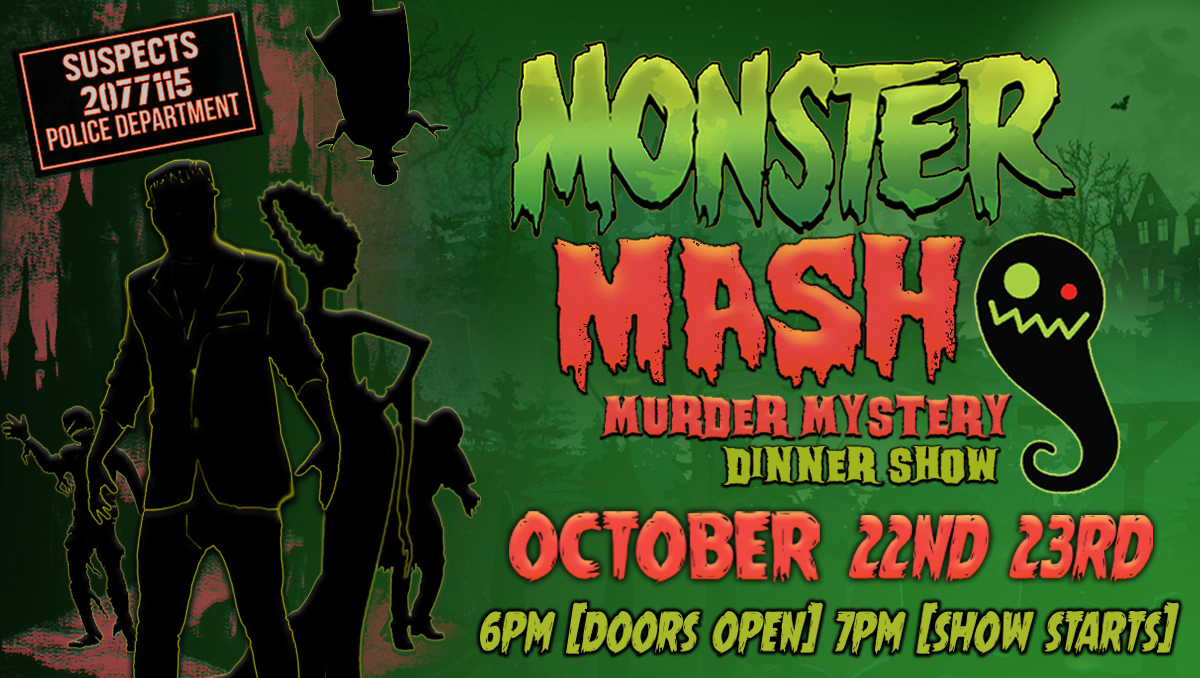 Monster Mash Murder Mystery Dinner Show