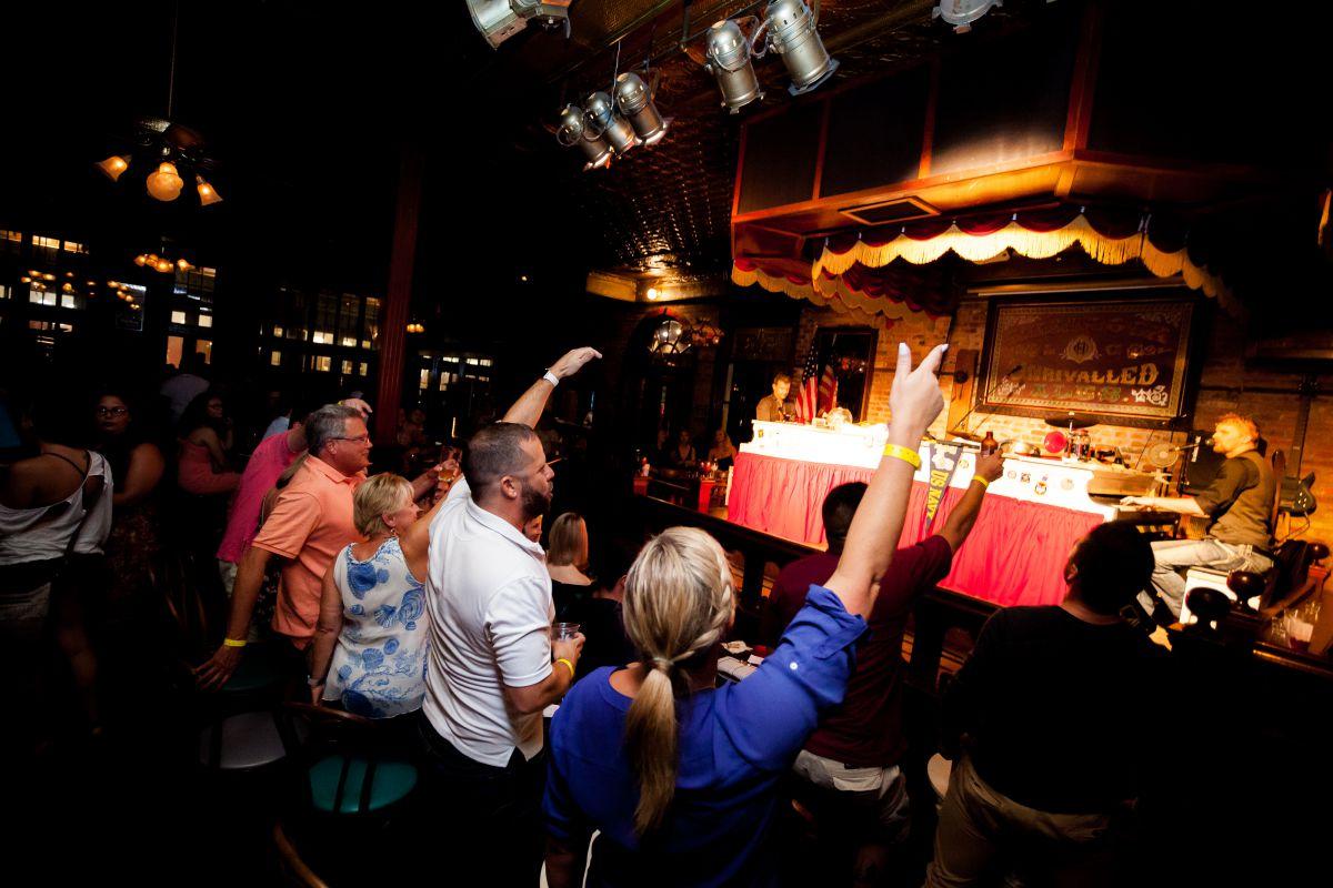Piano bar at Rosie o Gradys