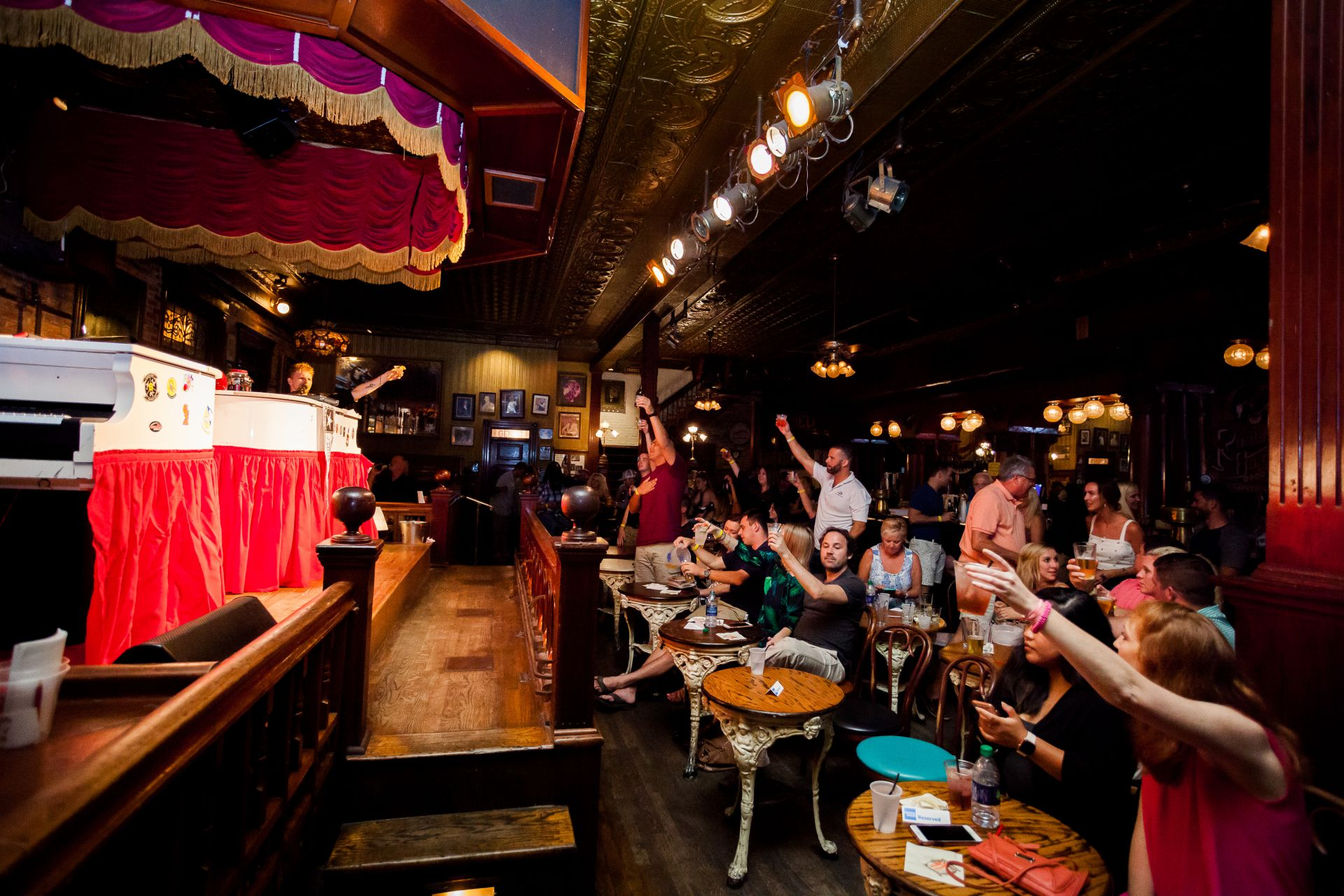 Piano Show at Rosie O'Grady's Bar