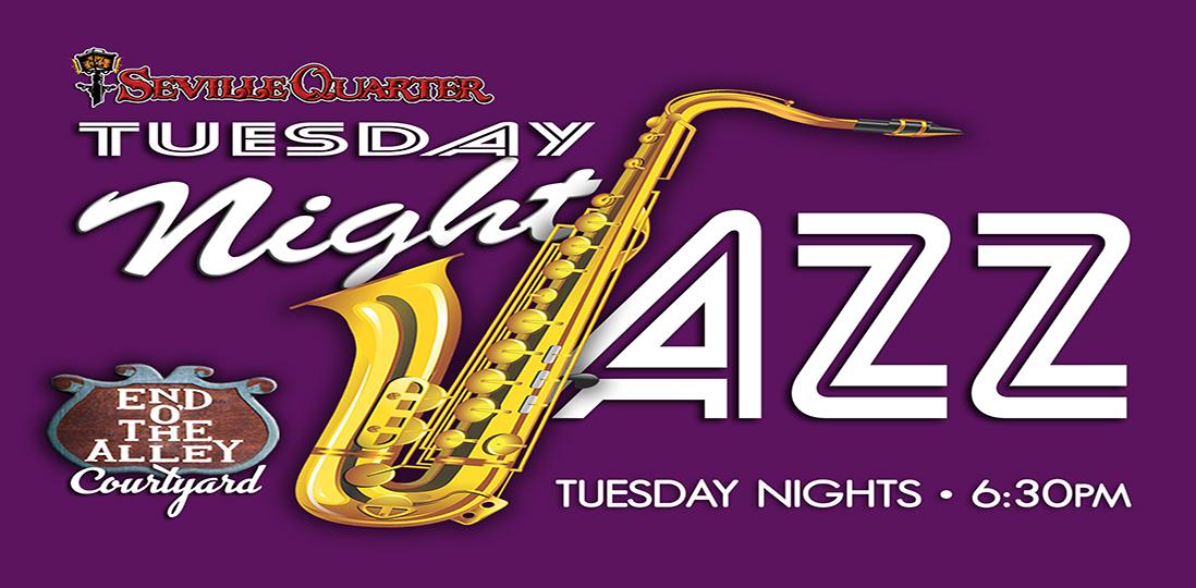 Seville Quarter Event Noah Hall (jazz)