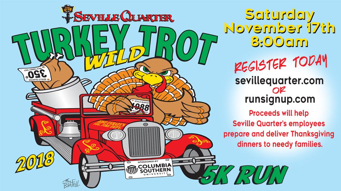 2018 Wild Turkey Trot 5K Run