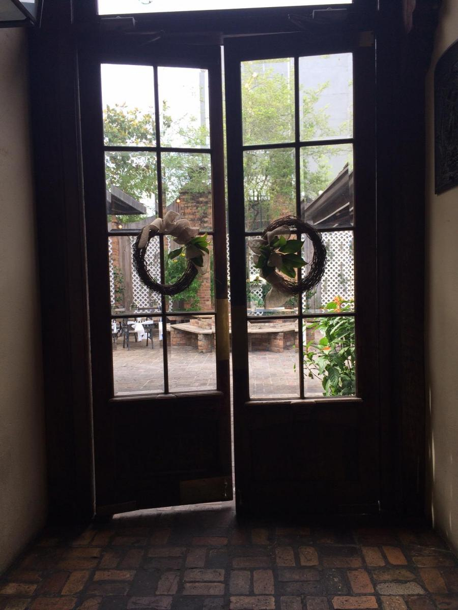 Doors to Outside