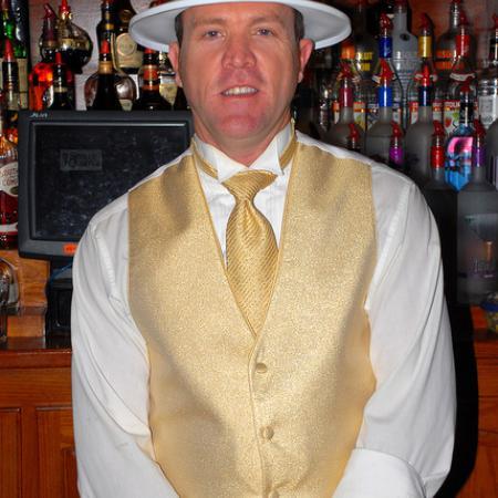 Seville Quarter - Rosie O'Grady's - A man in a white hat