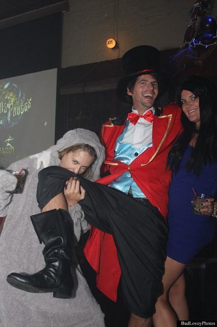 Seville Quarter - Rosie O'Grady's costume party