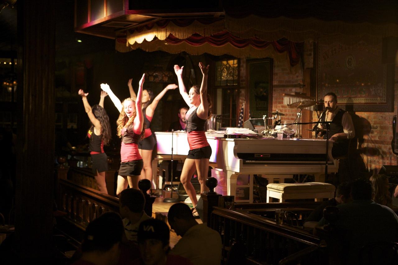 Seville Quarter - Rosie O'Grady's Performance