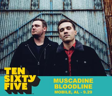 Ten Sixty Five 1065 Mobile Alababama Artist Muscadine Bloodline